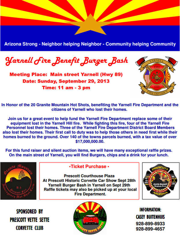 Yarnell Fire Benefit Burger Bash