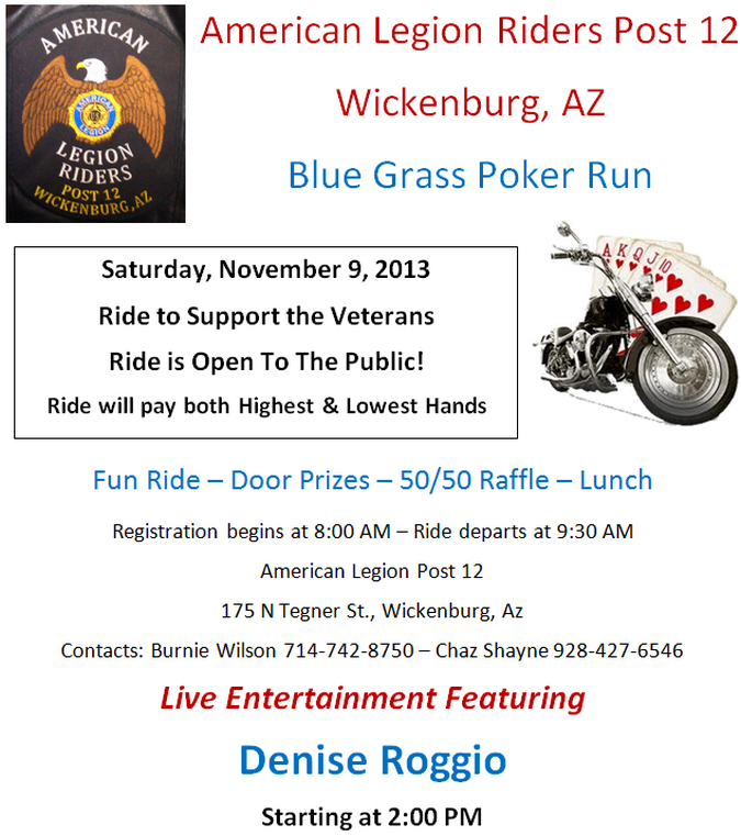 American Legion Riders Post 12 Wickenburg AZ