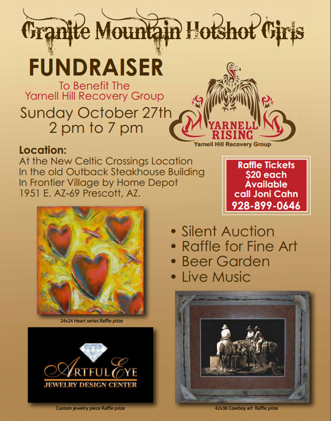 Granite Mountain Hotshot Girls Fundraiser