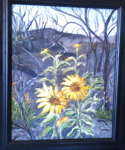 Barb Schlegel painting